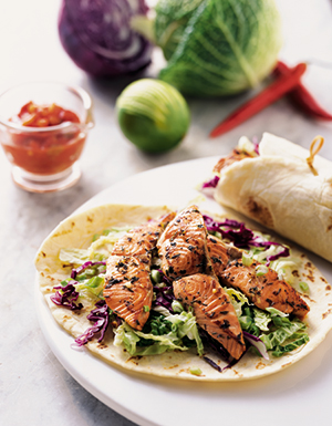Sound Catch™ Salmon Wraps